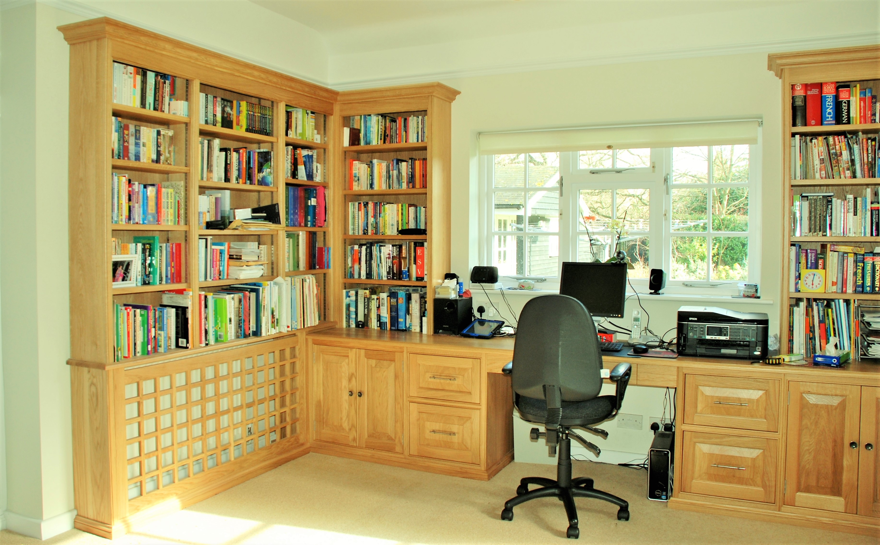 bespoke study furniture from Carpenter St Abans